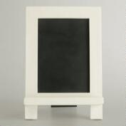 White Mini Easel Chalkboard
