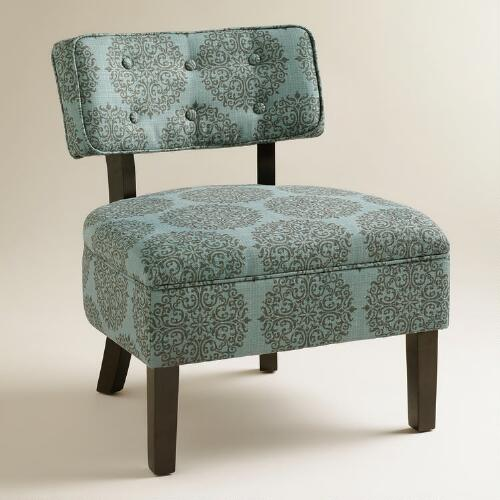 Teal Gabrielle Logan Chair