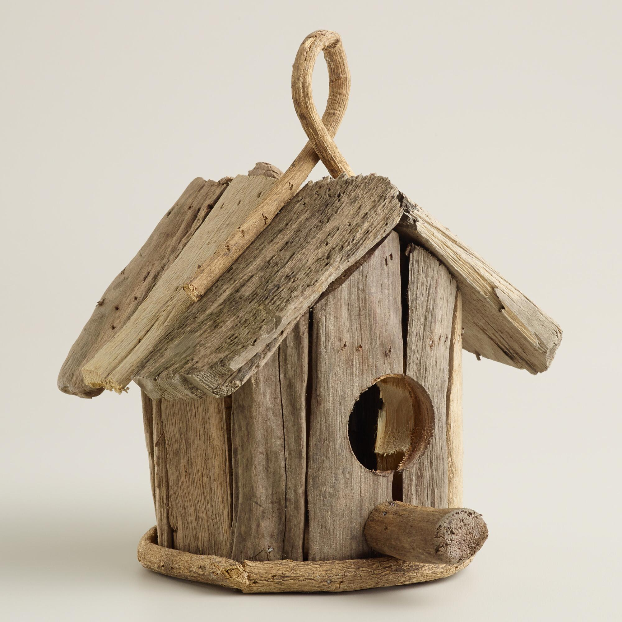 driftwood bird house decor world market On bird home decor
