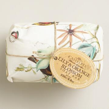 Castelbel Lily and Orange Blossom Bar Soap