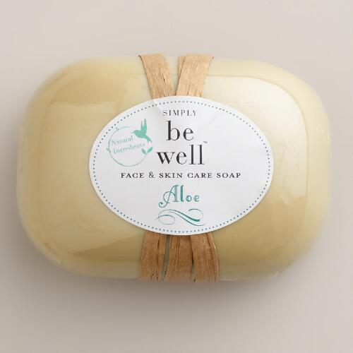 Be Well Aloe Bar Soap