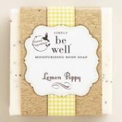 Be Well Lemon Poppy Bar Soap