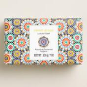 Asquith and Somerset Sweet Grass Mosaic Bar Soap