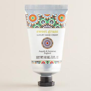 Asquith and Somerset Sweet Grass Mosaic Hand Cream