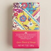 Asquith and Somerset Lotus Flower and Mango Bar Soap