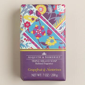 Asquith and Somerset Grapefruit and Nectarine Bar Soap