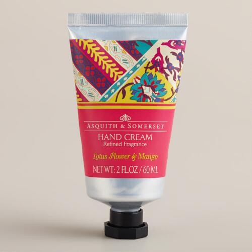 Asquith and Somerset Lotus Flower and Mango Hand Cream