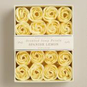 Spanish Lemon Soap Petals, 20-Piece