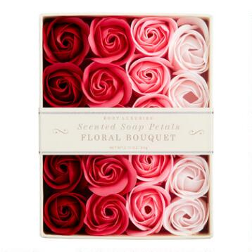 Floral Bouquet Soap Petals, 20-Piece
