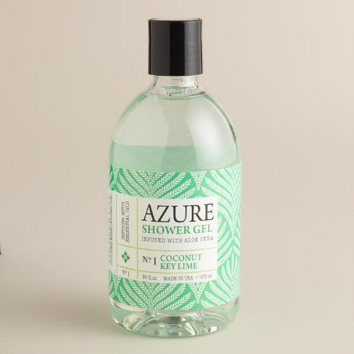 Azure Coconut Key Lime Shower Gel