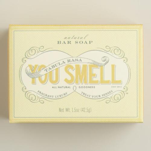 You Smell Lemon Cream Mini Bar Soap