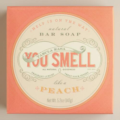 You Smell Peach Bar Soap