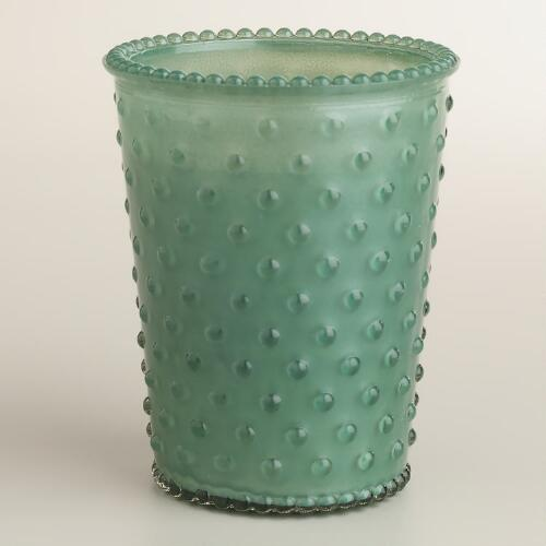 Verbena Fig Hobnail Filled Candle