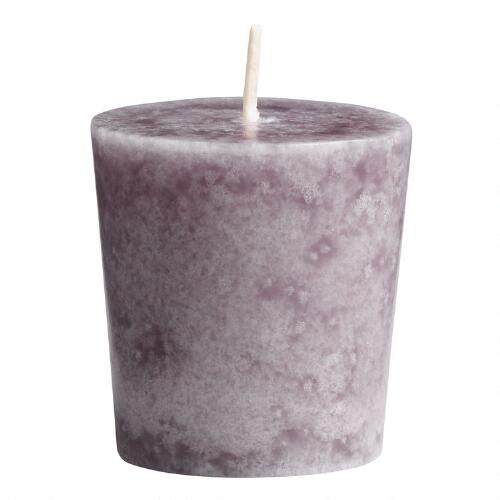 Provence Lavender Votive Candles, Set of 12