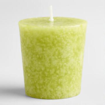 Spanish Citrus Votive Candles, Set of 12