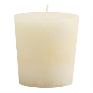 Madagascar Vanilla Votive Candles, Set of 12