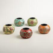 Nomad Ball Tealight Candleholders, Set of 5