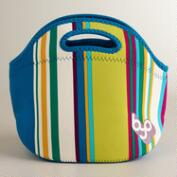 Thai Stripe Neoprene Lunch Bag