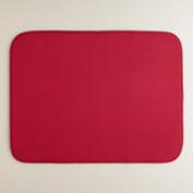 Extra-Large Red Dish Drying Mat