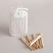 Wooden Storm Peg Clothespins, Set of 24