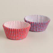 Pink and Lavender Dots Cupcake Liners, 50-Count