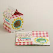 Milk Carton Treat Boxes, Set of 2