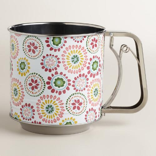 Spring Print 5-Cup Sifter