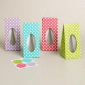 Dots Confection Bags, Set of 4
