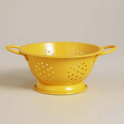 Mini Yellow Colander