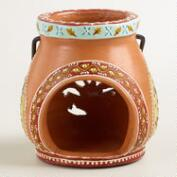 Small Terracotta Tealight Lantern