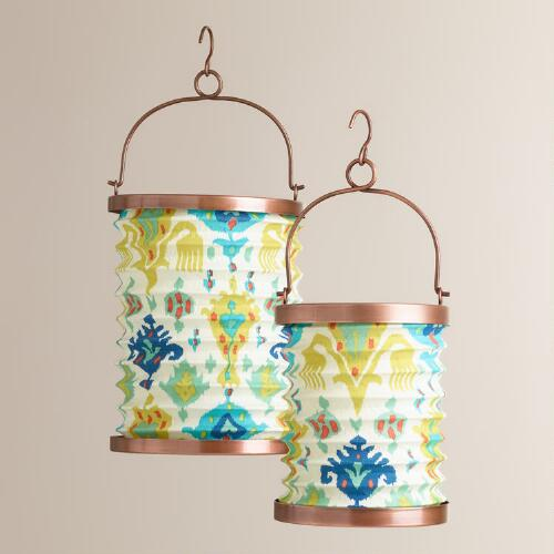 Aberdeen Fabric Folding Lanterns
