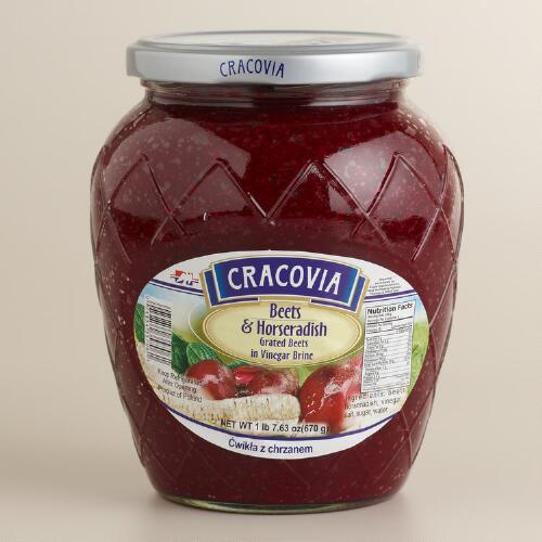 Cracovia Shredded Beets and Horseradish