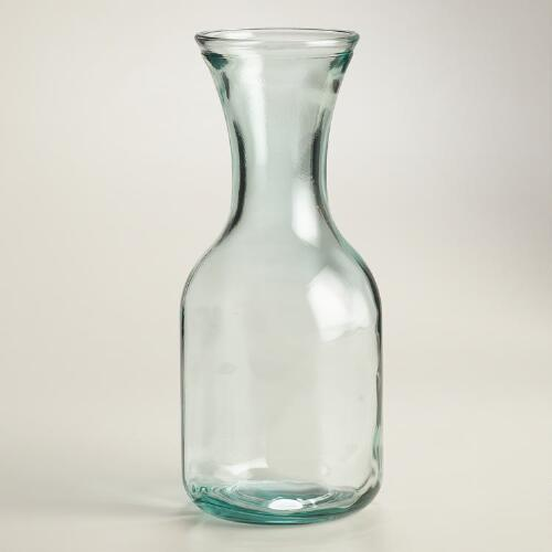 Recycled Green Dot Carafe