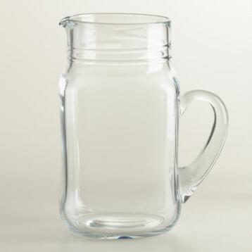 Drinking Jar Pitcher