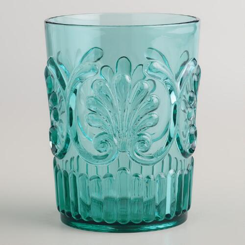 Aqua Pacific Tumblers,  Set of 2