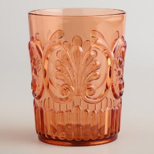 Orange Pacific Tumblers, Set of 2