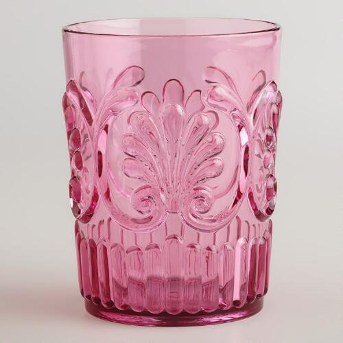 Pink Pacific Tumblers, Set of 2