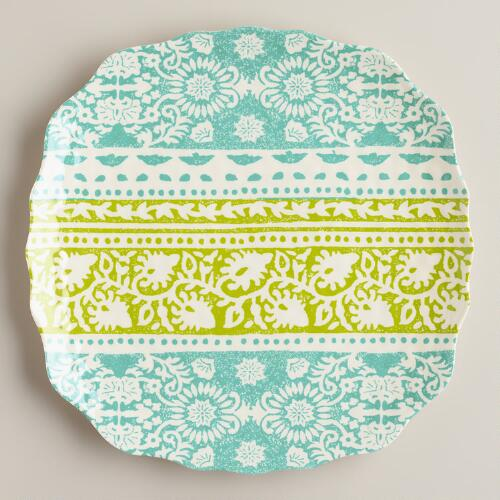 Cool Ban Tai Plates, Set of 2