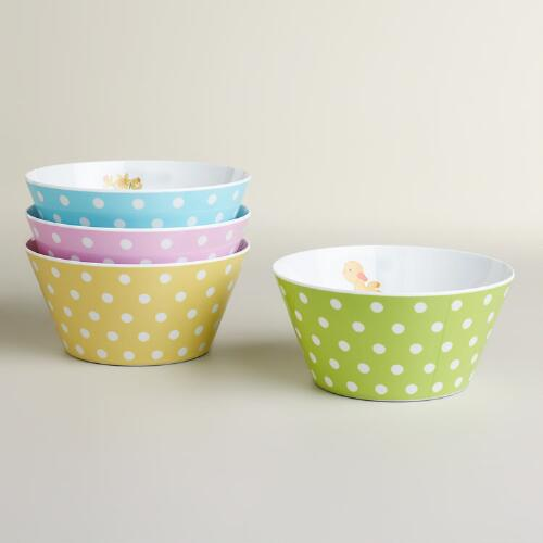 Easter Bowls, Set of 4