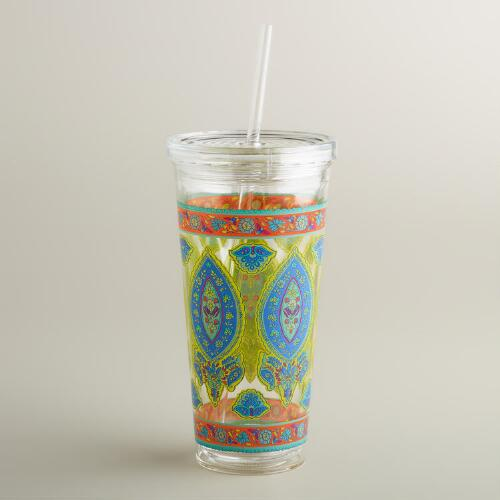 Paisley Maria Double Wall Tumblers