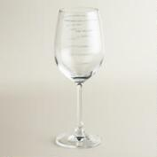 Sauced Wine Glass