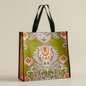 Green Summer Goddess Reusable Tote