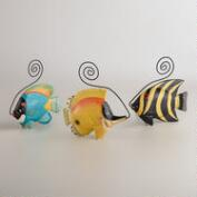 Tropical Fish Cardholders, Set of 3