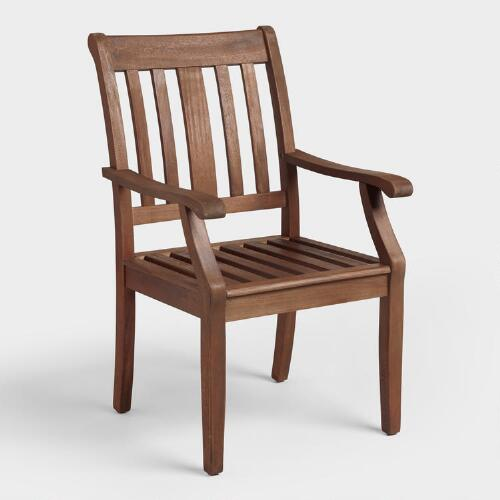 Wood St Martin Dining Armchair