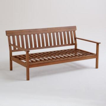 Catalina Occasional Deep Bench Frame