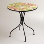 Floral Cadiz Mosaic Bistro Table
