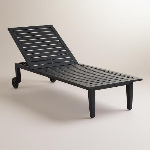 Saranda Metal Chaise Lounger