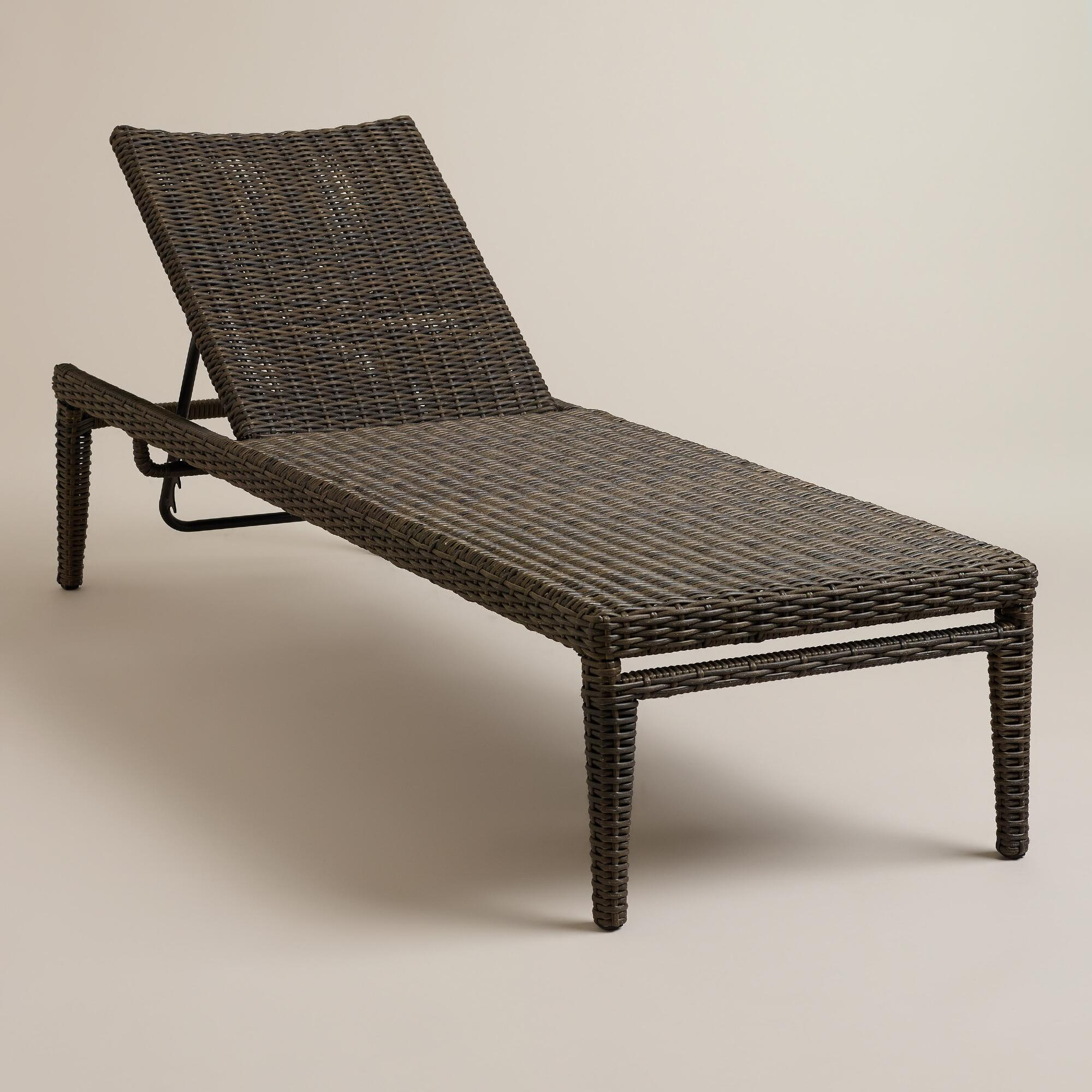 solano all weather wicker chaise lounger world market