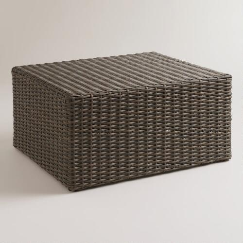 Formentera All-Weather Wicker Coffee Table