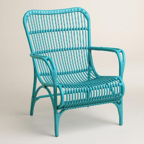 Blue Hanalei Occasional Chairs, Set of 2
